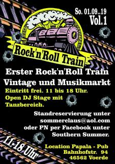 Rock'n'Roll Train Vintage & Musikmarkt Vol.1 / Voerde